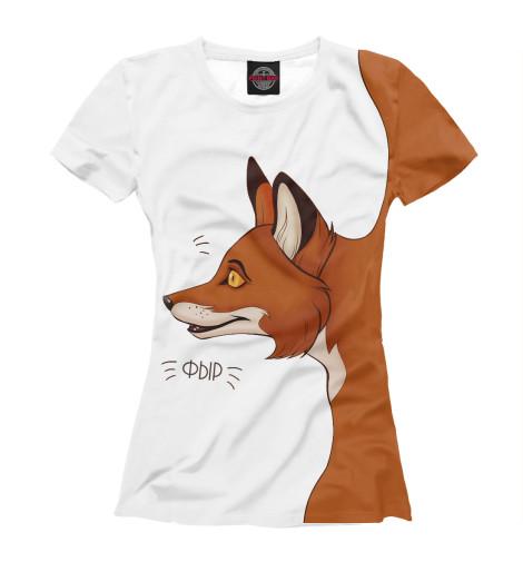 Женские футболки с принтом фото